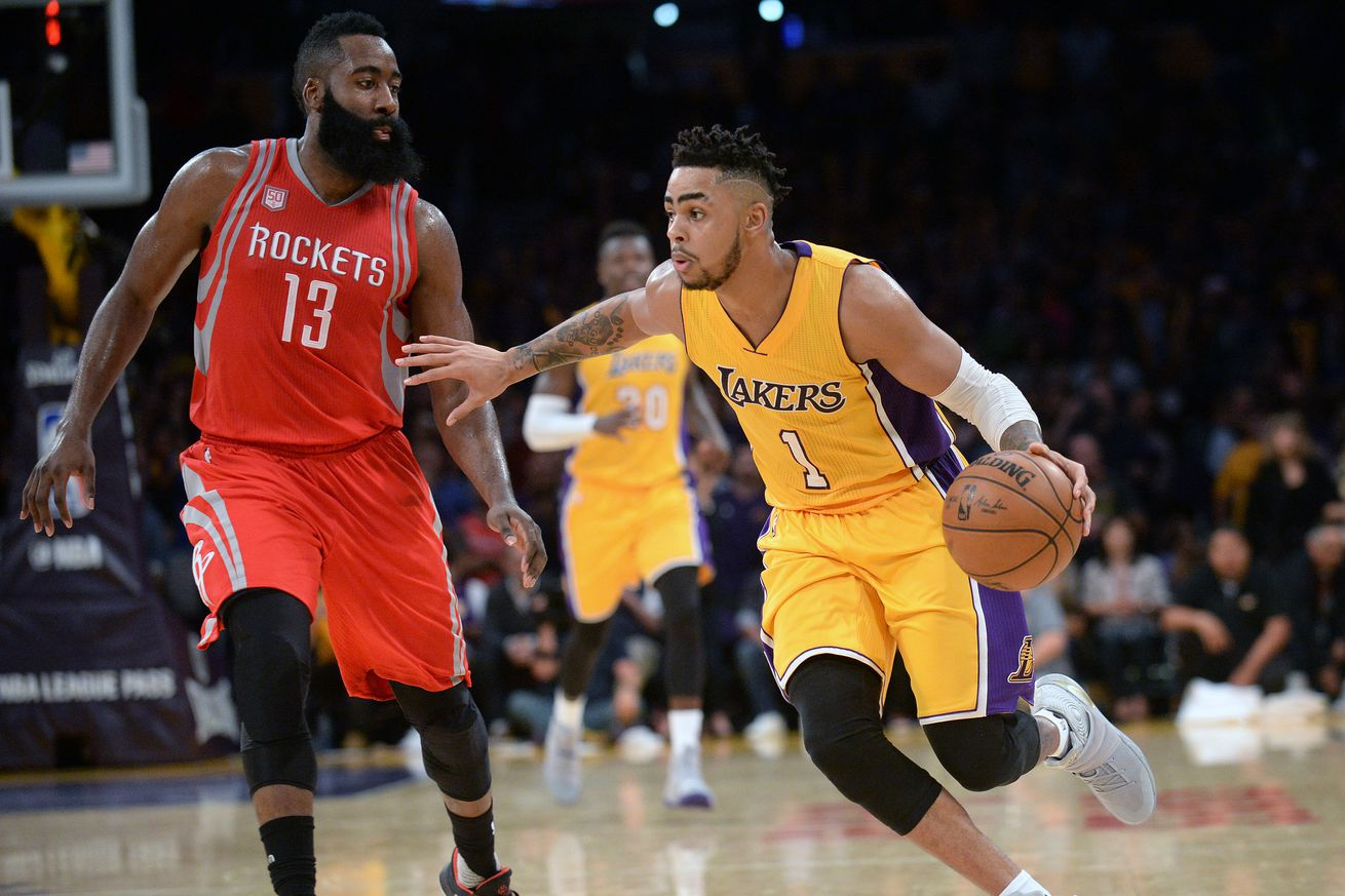 Hot-shooting Eric Gordon leads Rockets past Lakers, 134-95
