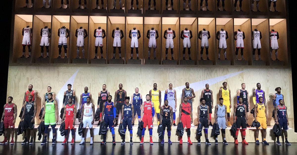 All 30 Nba Nike Statement Jerseys Sbnation Com