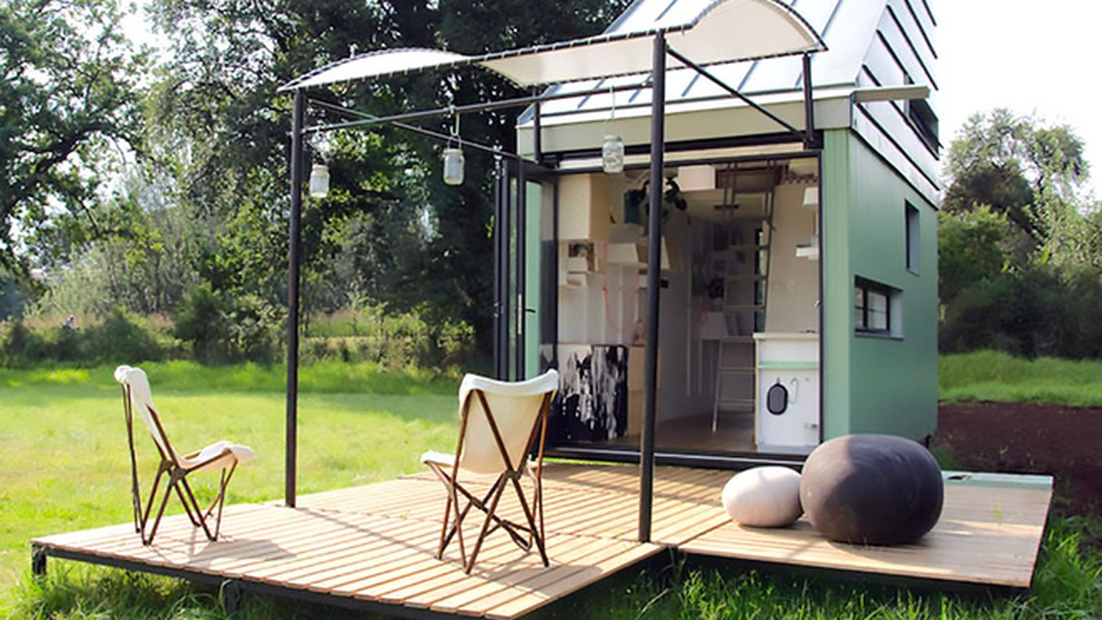 Could You Live Square Foot Prefab Flat Pack