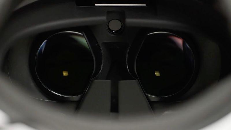 PlayStation VR lenses (Polygon shot)