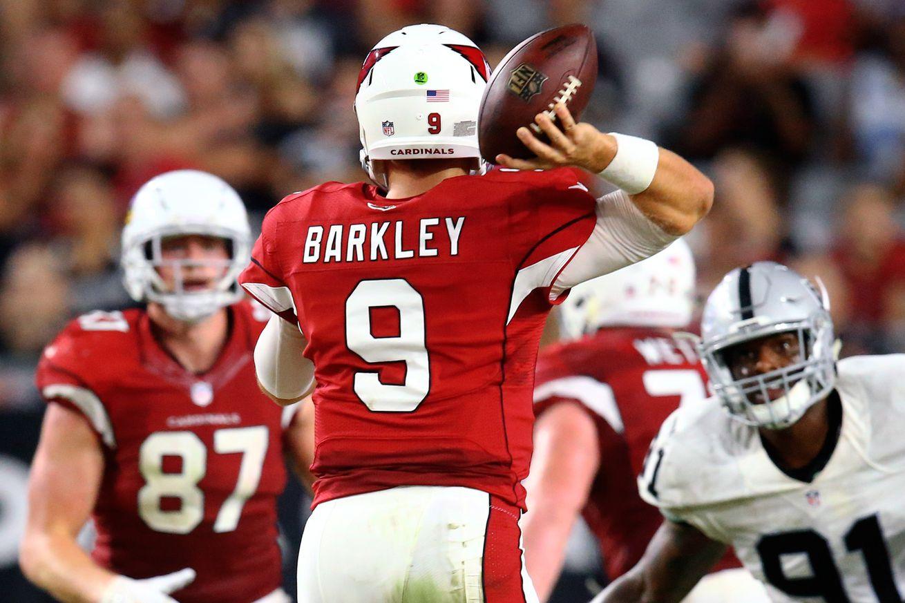 GAME Arizona Cardinals Matt Barkley Jerseys