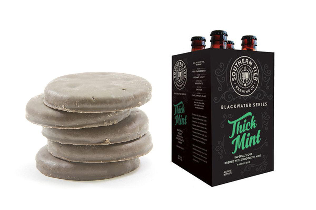 girl scout cookie flavored beer is an actual thing   eater
