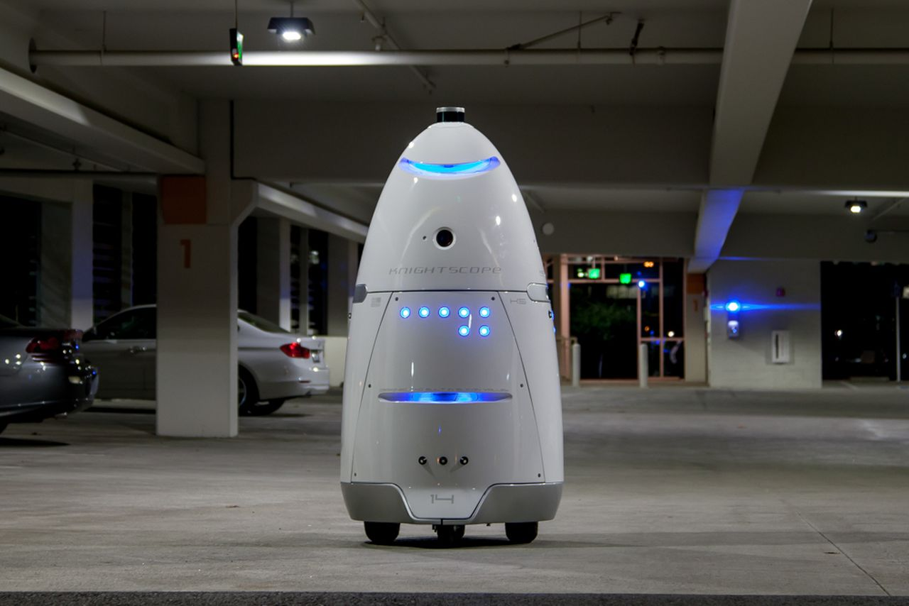 Toddler run over by 300-pound security robot
