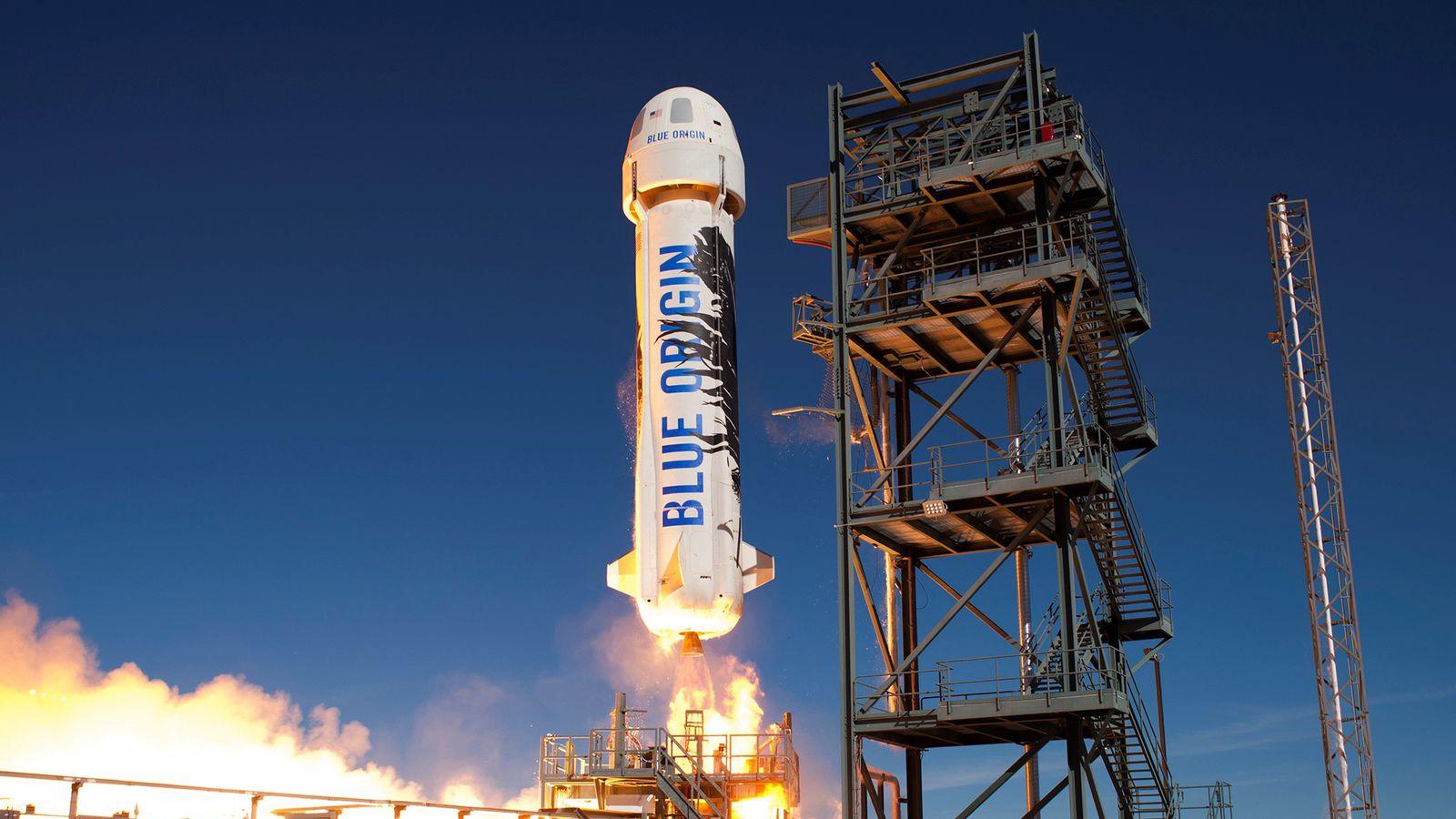 Blue Origin наносит первый удар