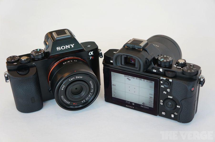 sony alpha 7 and alpha 7r hands on photos