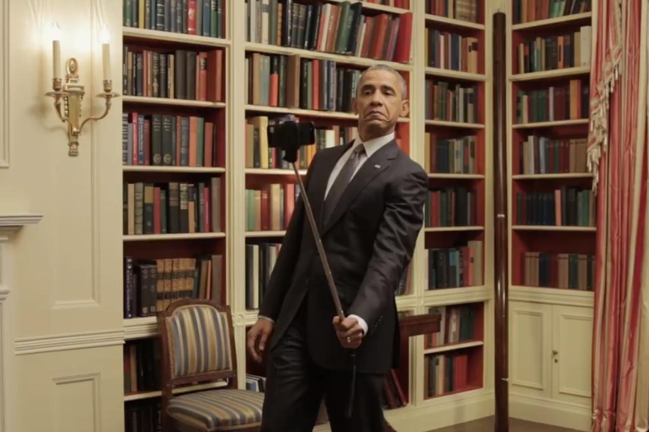 The Bookshelf Where Obama Used To Keep His Books During