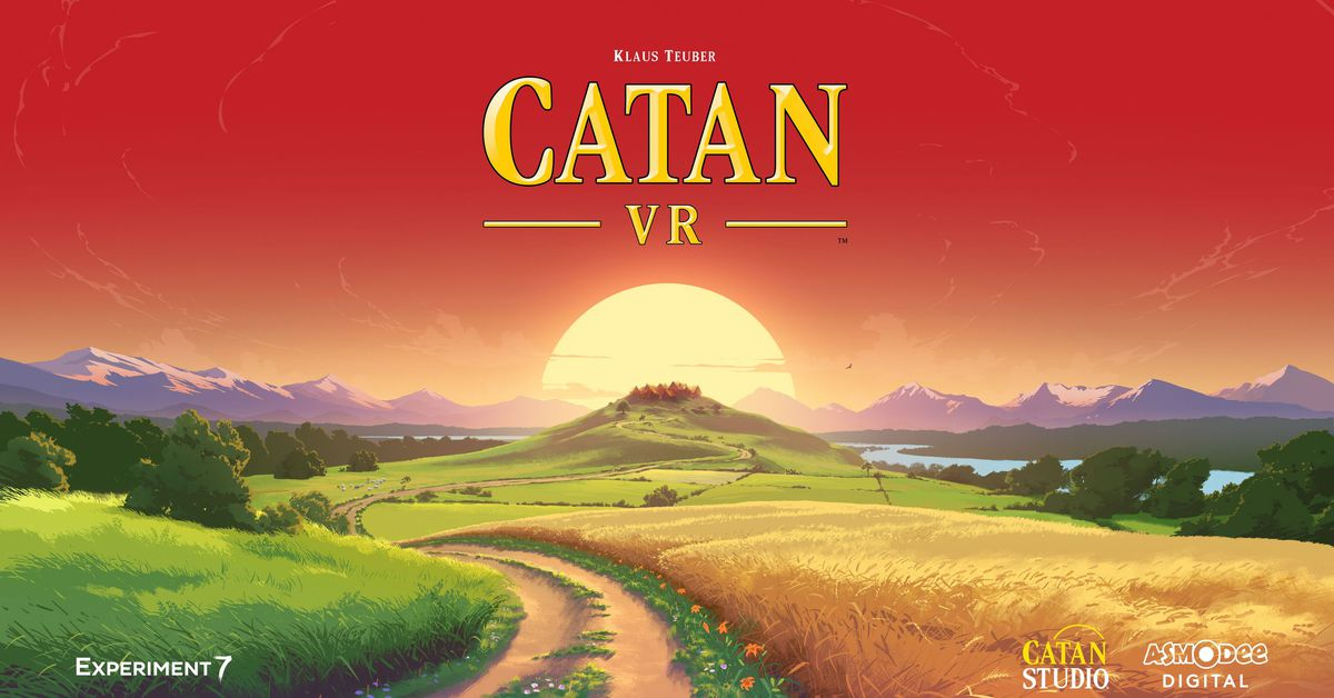 Settlers of Catan is coming to virtual reality this year