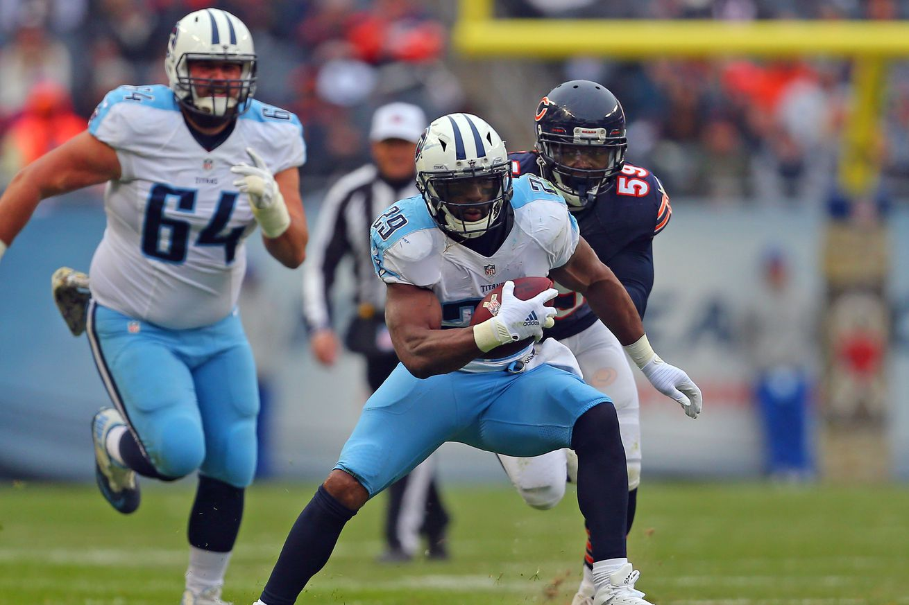 Tennessee Titans news links: DeMarco Murray was really good in 2016