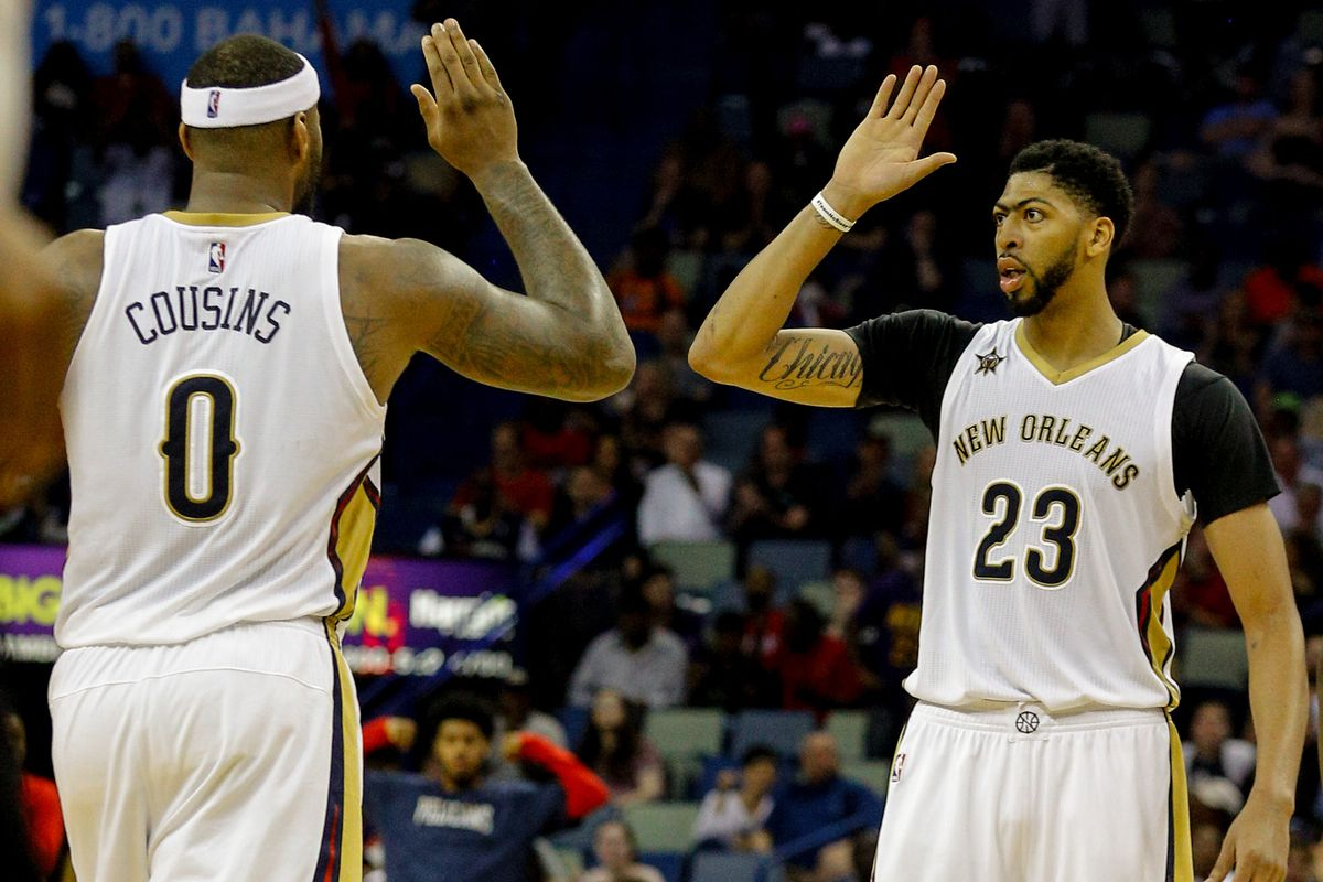 Lots of Davis, no Cousins in Pelicans' road win