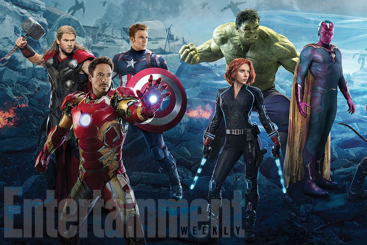 This Avengers magazine cover is a beautiful homage to '90s ...