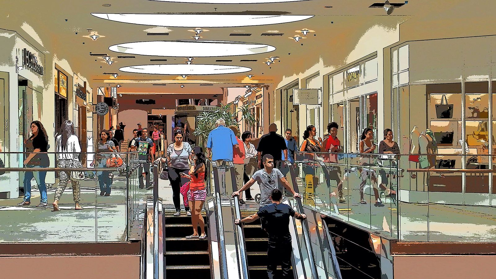 A musical ode to the glendale galleria just in time for for The glendale