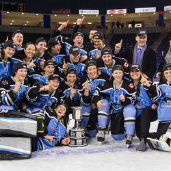 The Isobel Cup champions Buffalo Beauts.