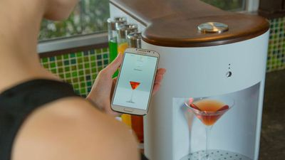 WiFi-Enabled Cocktail Machine Promises It Can Mix Drinks in Less Than Five Seconds
