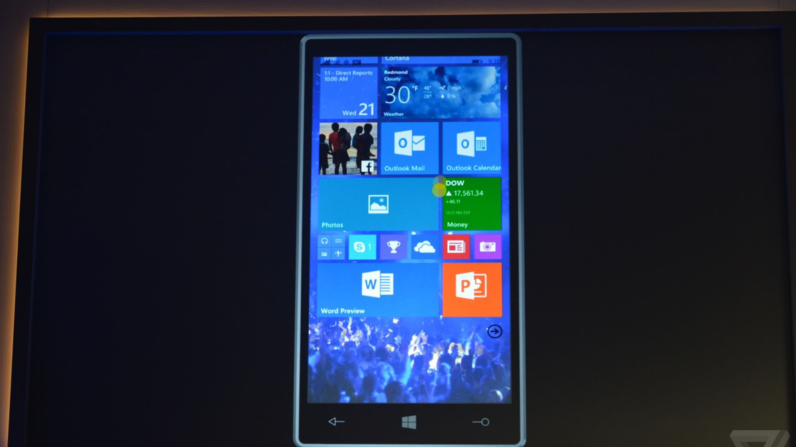 Windows 10 makes its phone debut the verge for Microsoft win10