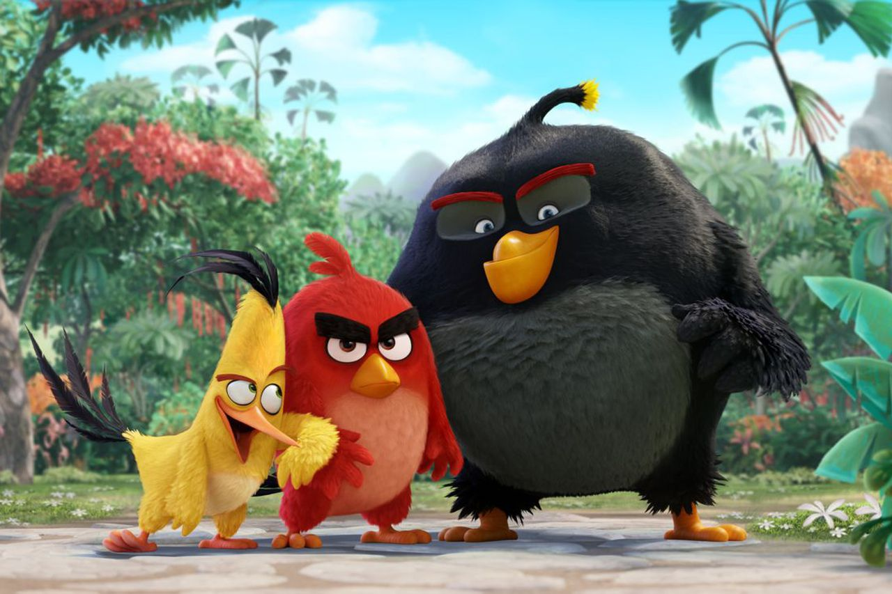 The New Champ at the Box Office Is 'Angry Birds'