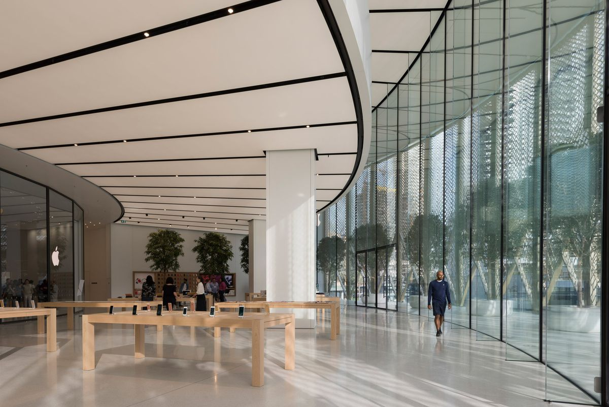 New Apple store 2