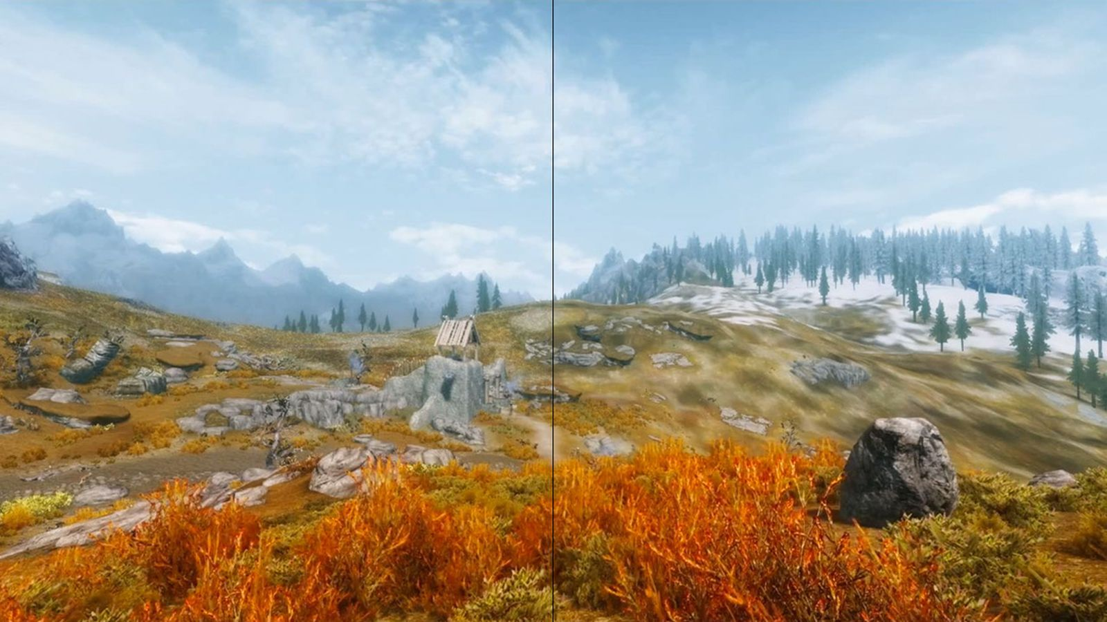 new skyrim mod enhances terrain and distant textures polygon. Black Bedroom Furniture Sets. Home Design Ideas