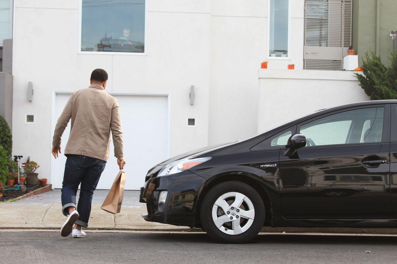 Uber Food Delivery Houston