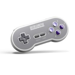 8Bitdo SN30 and SF30 2.4G Wireless Controller for SNES Classic Edition