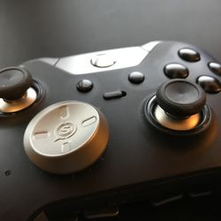 Elite controller with the directional bias d-pad