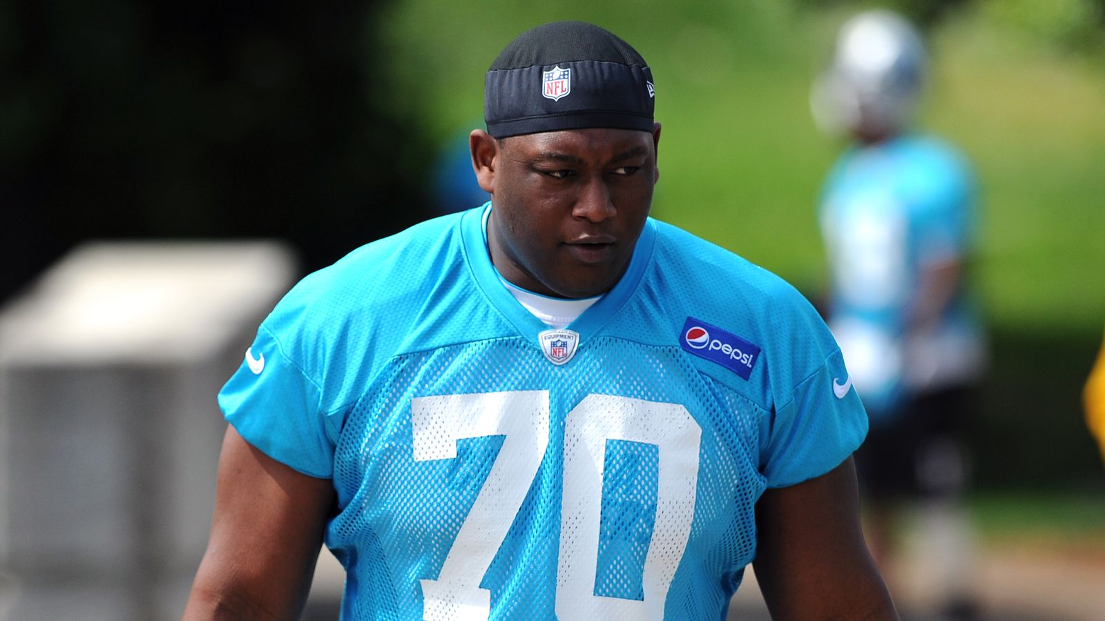 Nike authentic jerseys - Panthers waive OL Edmund Kugbila, sign DT Chas Alecxih - Cat ...