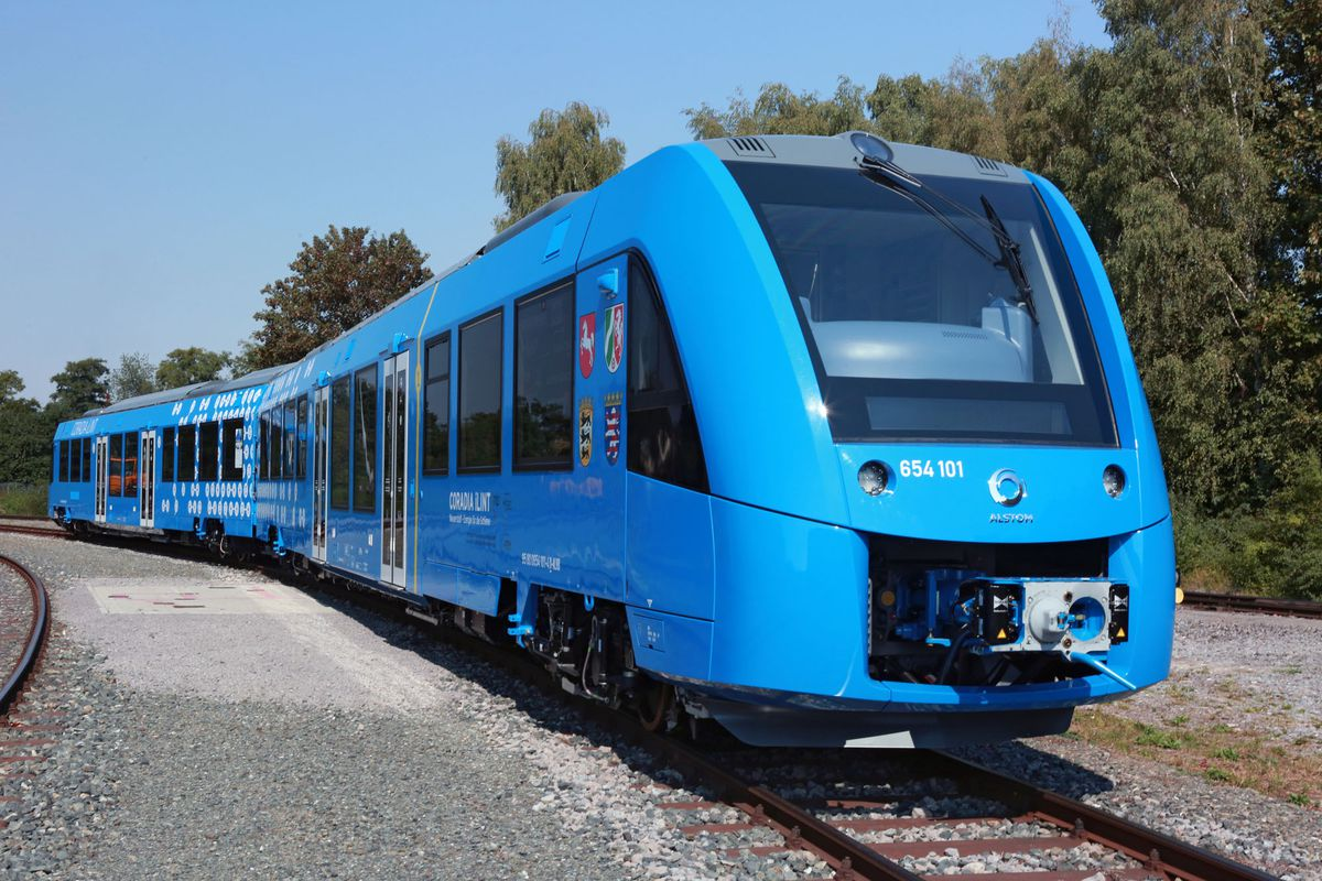the world s first hydrogen powered passenger train is coming to