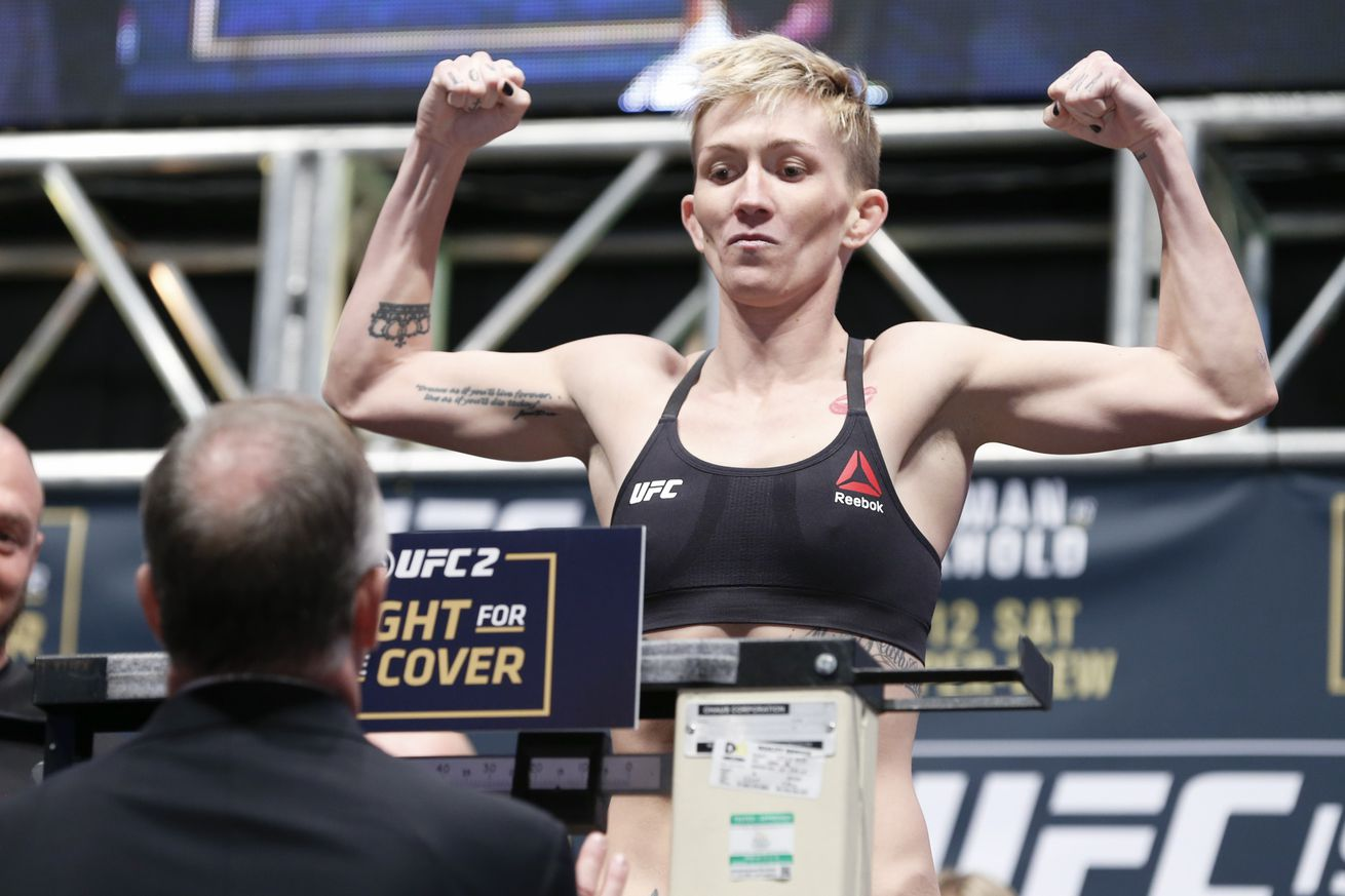 After latest loss, strawweight Jocelyn Jones Lybarger retires from MMA