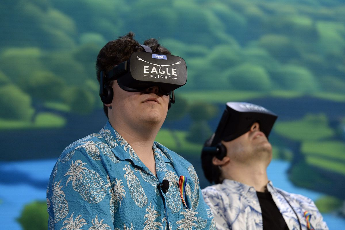 Oculus co-founder Palmer Luckey donated $100000 to Trump's inauguration
