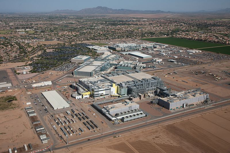 Intel Fab 42 factory in Arizona