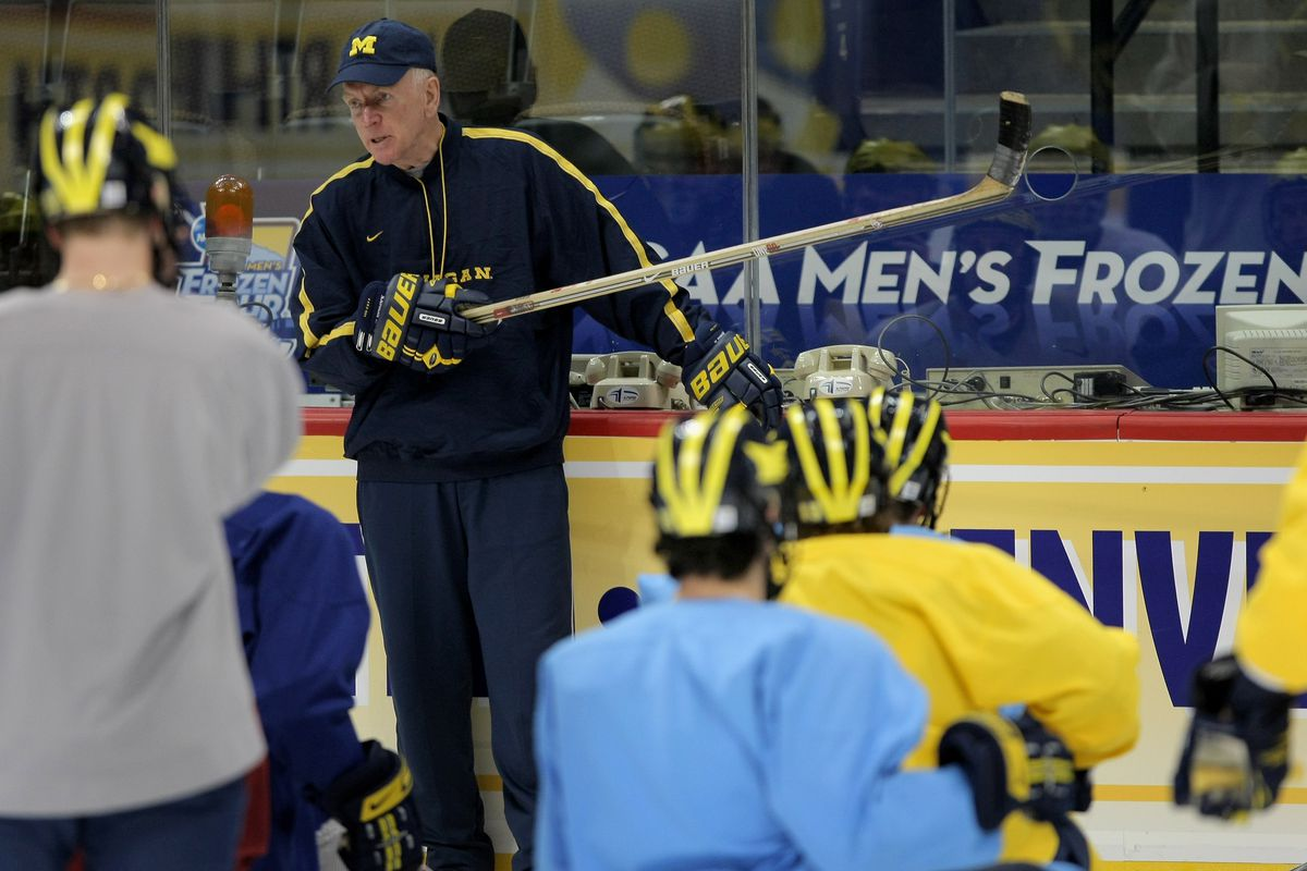 Michigan hockey coach Red Berenson retires after 33 seasons