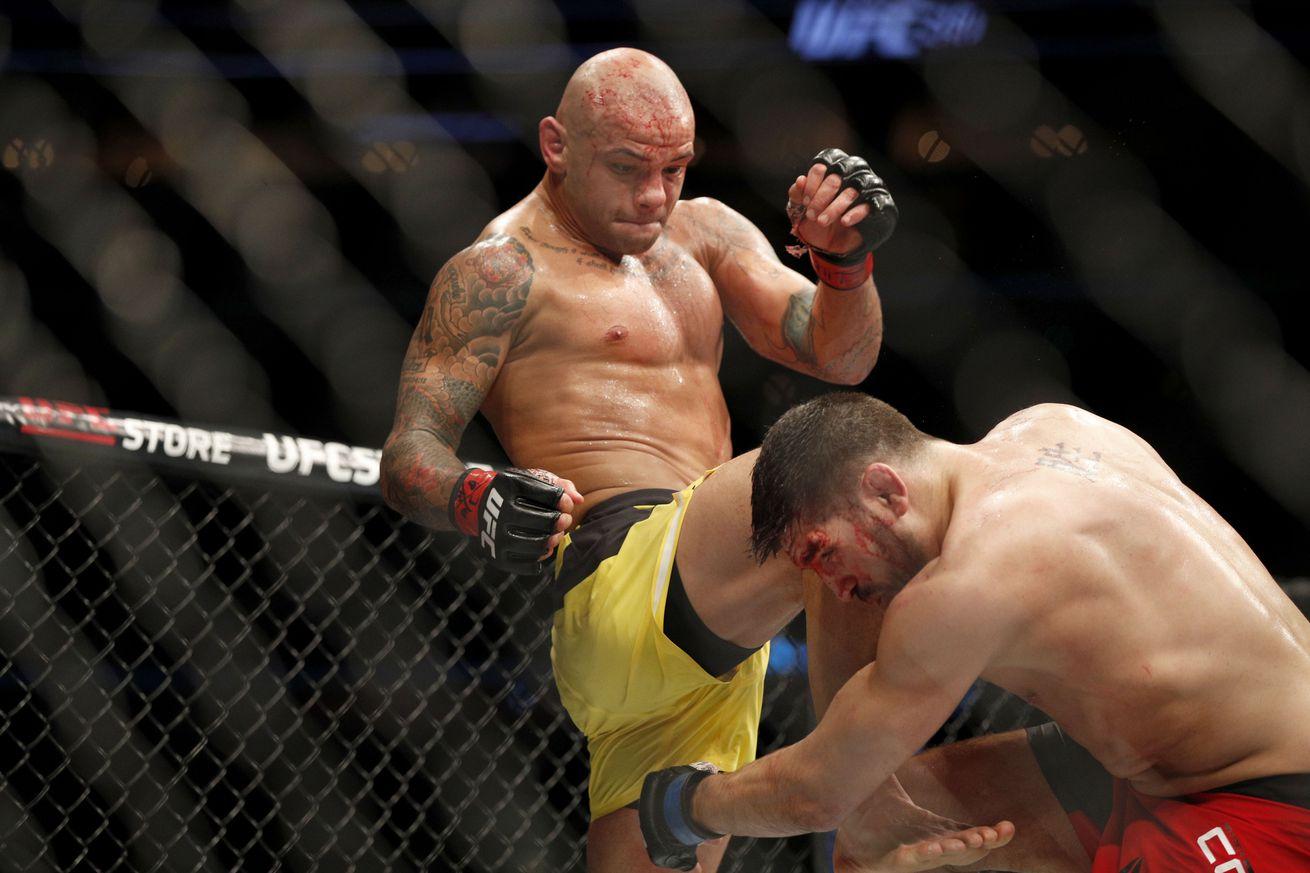 community news, UFC 210 results from last night: Patrick Cote vs Thiago Alves fight recap