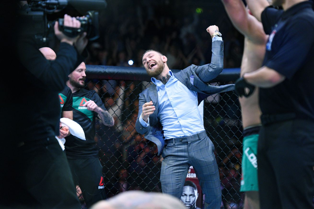 Pic: 'Proud daddy' Conor McGregor reveals first photo of newborn son