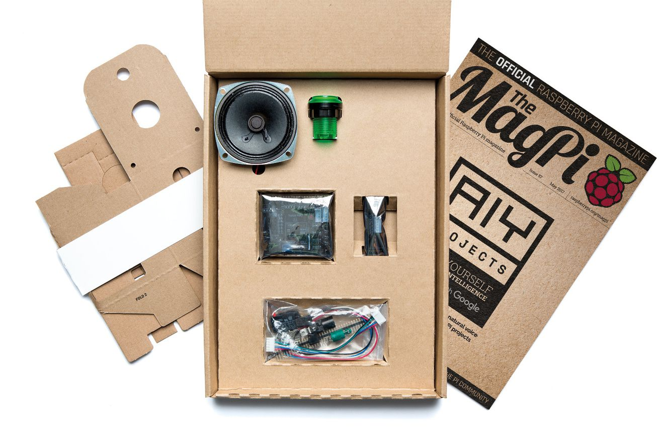 Free Google AIY Projects Kits With This Months Raspberry Pi Official Magazine