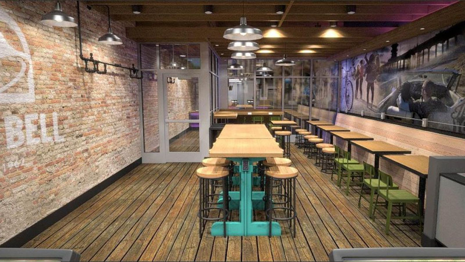 Taco Bell Banks On Upscale Decor With Four New Store