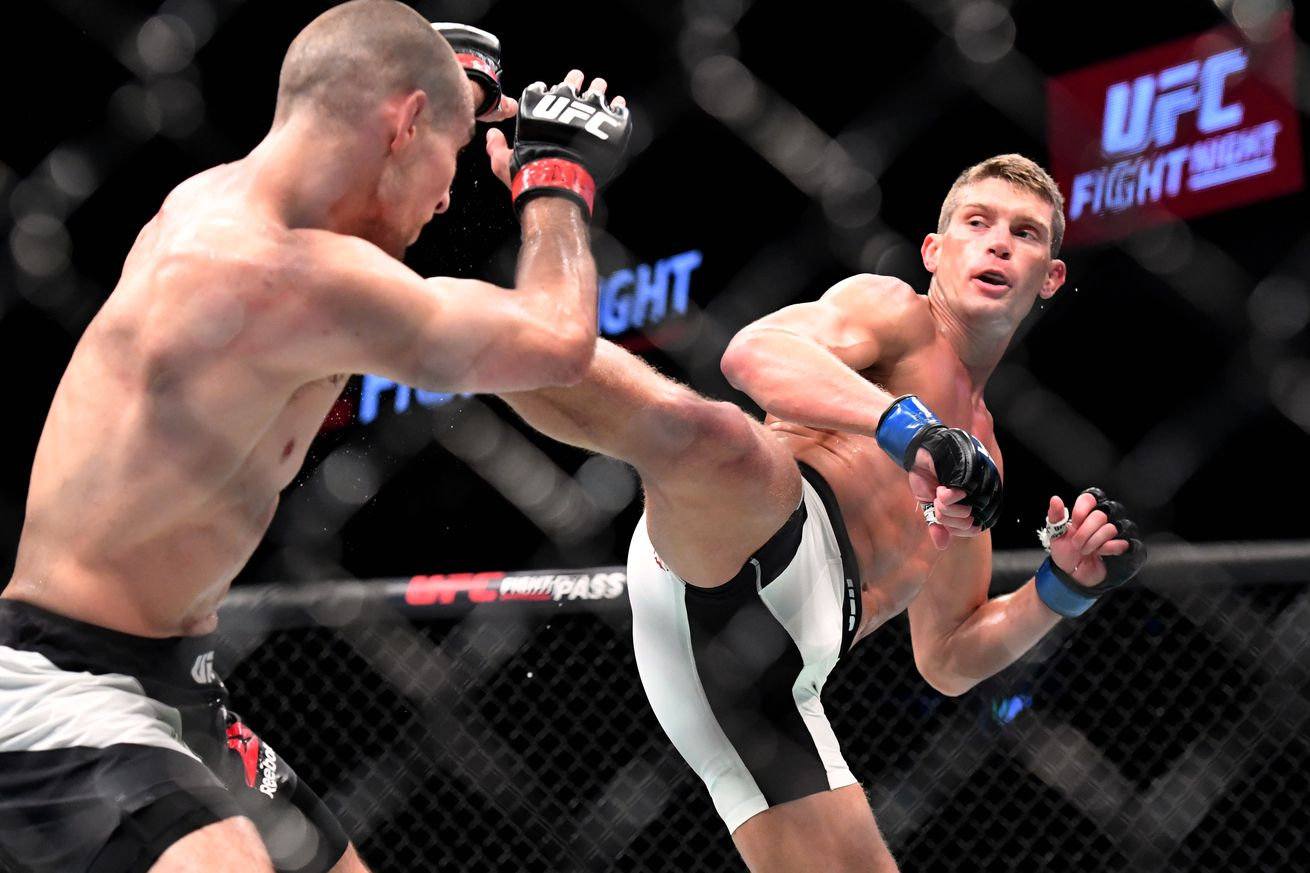 community news, Stephen Thompson: Tyron Woodley wants the money fight, but Im going to put this foot upside his head