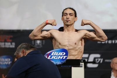 Marijuana offender Francisco Trevino among the latest group of fighters cut by the UFC