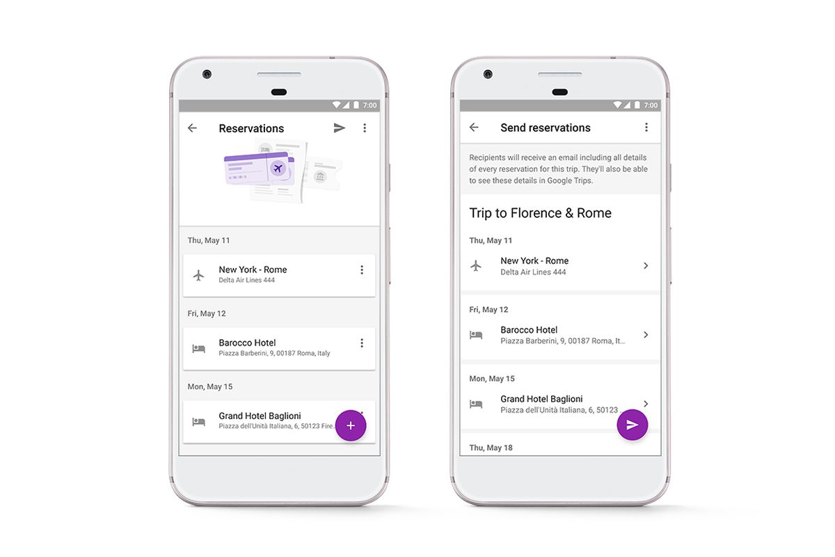 Google Trips gets new ways to make your next vacation better