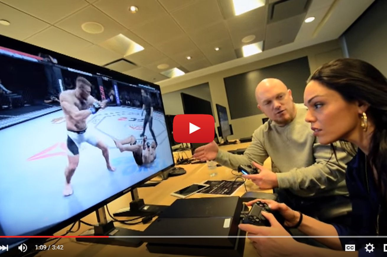 community news, EA Sports UFC 2 video review of latest features, Conor McGregor vs Frankie Edgar demonstration