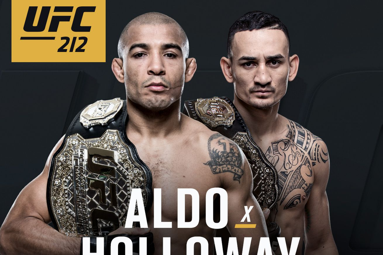 Latest UFC 212 fight card, rumors, and updates for 'Aldo vs Holloway' on June 3 in Brazil