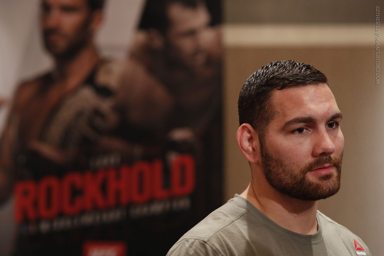 community news, Chris Weidman bent on making sure everyone knows his loss to Luke Rockhold was a fluke