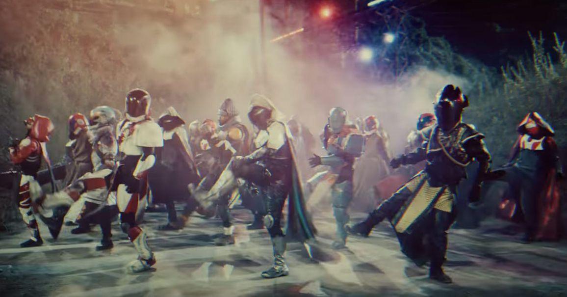 Destiny Dance Gif: Destiny 2's Japanese Launch Trailer Perfectly Encapsulates