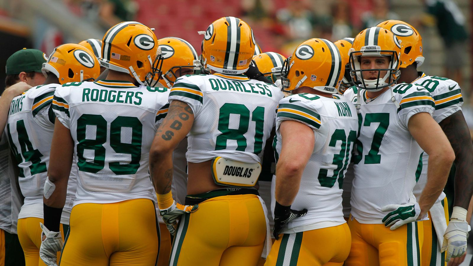 Jerseys NFL Outlet - 2015 Packers Tight Ends Preview: Quarless, Rodgers and Perillo ...
