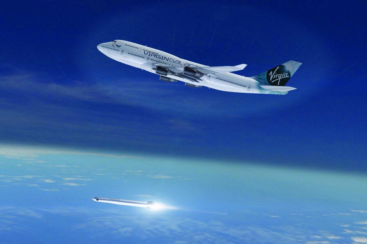 Richard Branson fires up his third space venture; Virgin Orbit