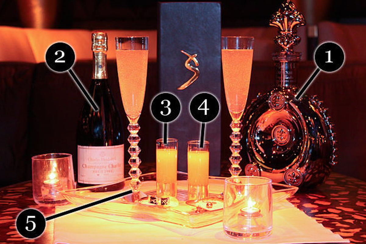 The $10,000 Ono Cocktail at XS Nightclub in Las Vegas - Eater