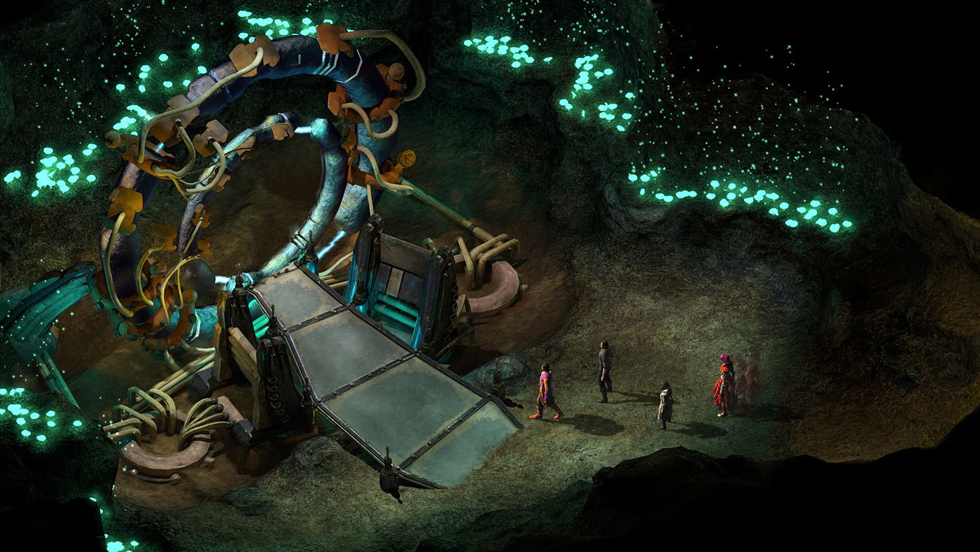 Torment: Tides of Numenera screenshot