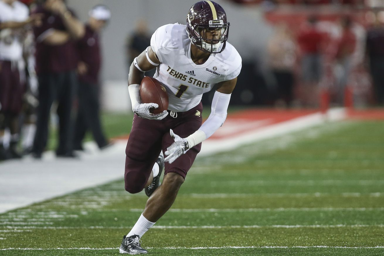 Jerseys NFL Outlet - Three Texas State Players Picked Up As Undrafted Free Agents ...