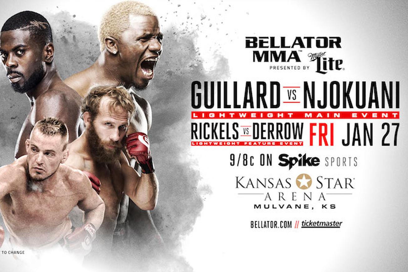 community news, Bellator 171 Guillard vs Njokuani recap with results, .gifs and video highlights