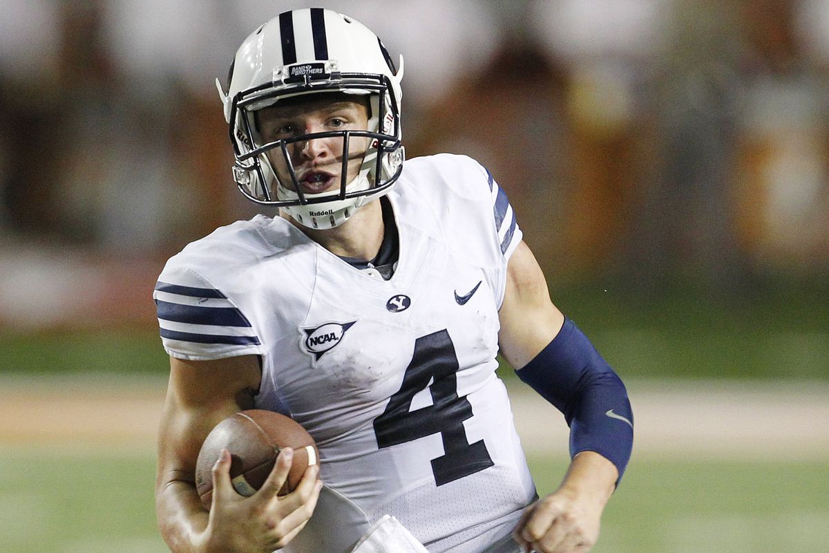 byu football taysom hill s top career performances vanquish chris covatta getty images