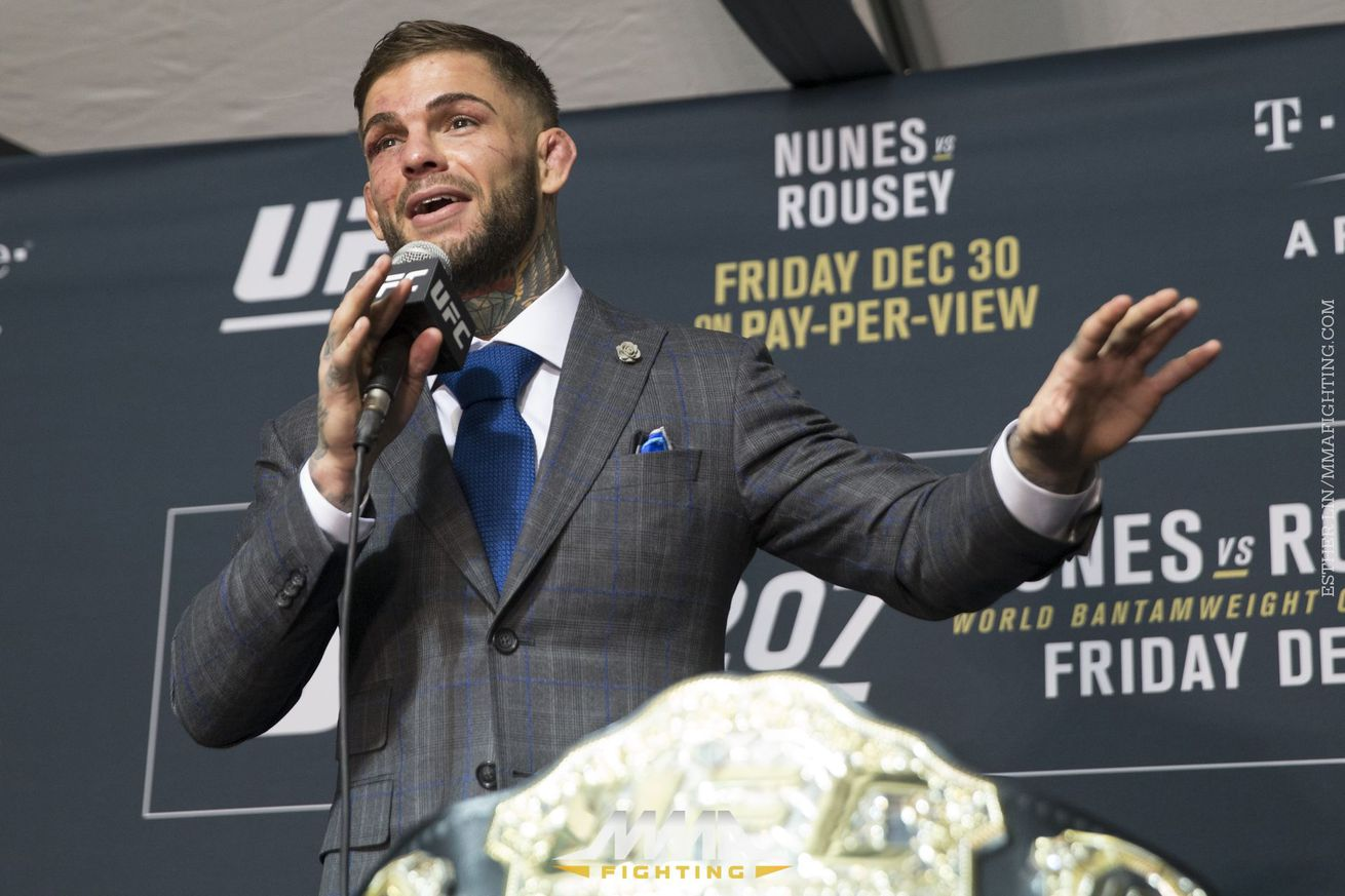 community news, Morning Report: Cody Garbrandt has plans to be the UFC's first three division champion
