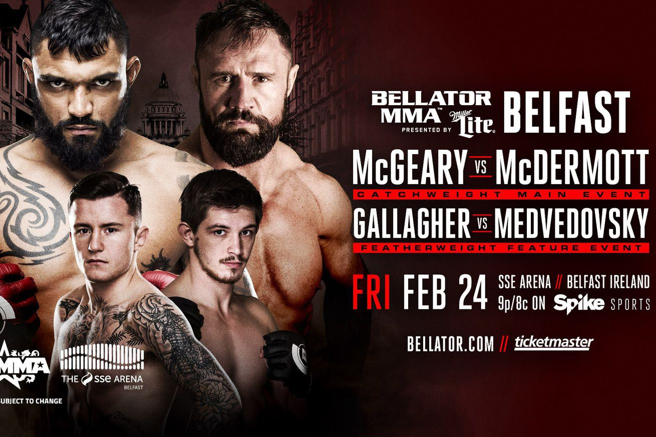 Bellator 173 results: LIVE McGeary vs McDermott streaming play by play updates TONIGHT on Spike TV